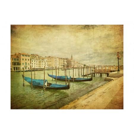 Fotomurale - Grand Canal, Venice (Vintage) - Quadri e decorazioni