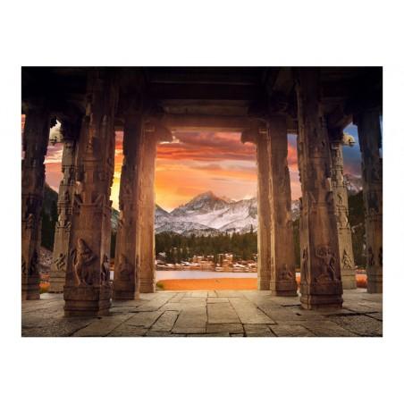 Fotomurale - Lungo il sentiero dei santuari di pietra - Quadri e decorazioni