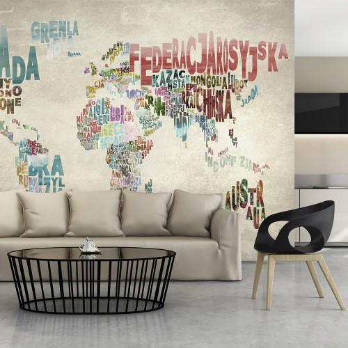 Fotomurale - Mondo senza confini - Quadri e decorazioni