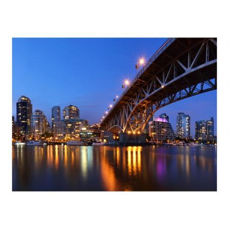 Fotomurale - Granville Bridge - Vancouver (Canada) - Quadri e decorazioni