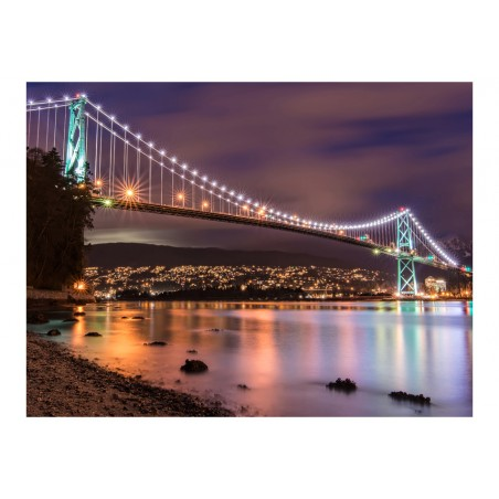 Fotomurale - Lions Gate Bridge - Vancouver (Canada) - Quadri e decorazioni