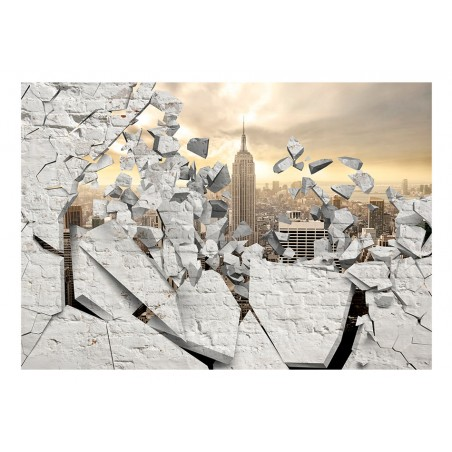 Fotomurale - NY - City behind the Wall - Quadri e decorazioni