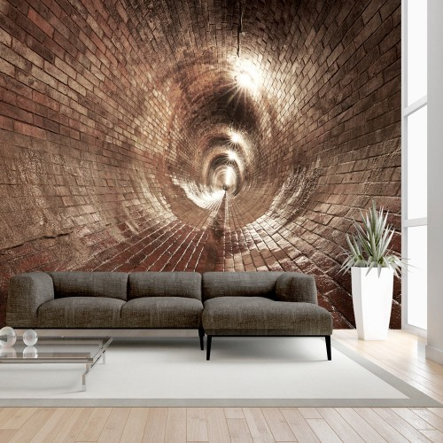 Fotomurale - Underground Corridor - Quadri e decorazioni