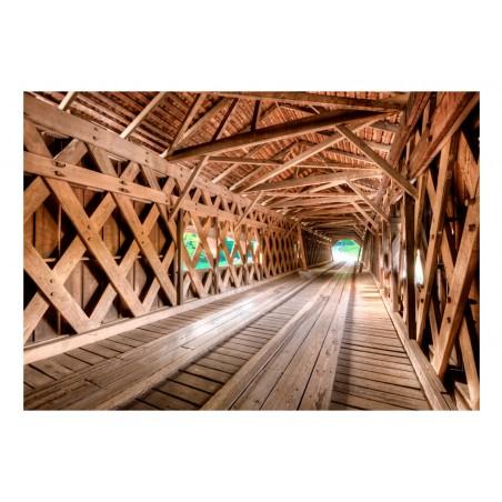 Fotomurale - Ponte di legno - Quadri e decorazioni