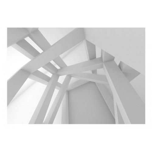 Fotomurale - White Construction - Quadri e decorazioni