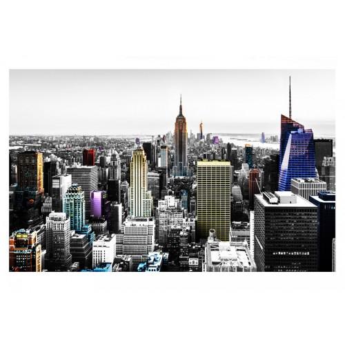 Fotomurale - Grattacieli iridescenti - Quadri e decorazioni