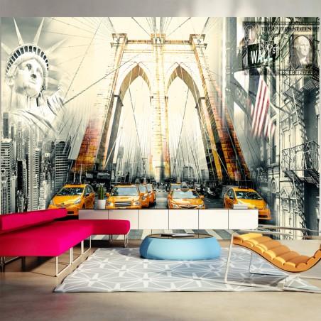 Fotomurale - Vita di città - Quadri e decorazioni