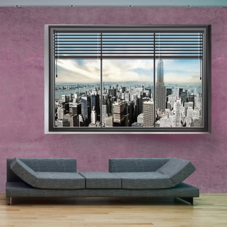 Fotomurale - Finestra di New York II - Quadri e decorazioni