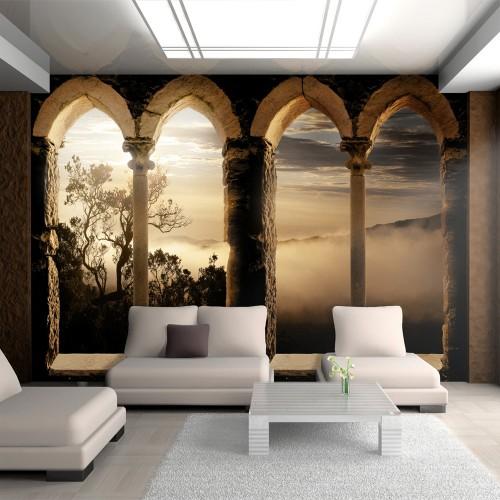 Fotomurale - Monastero in montagna - Quadri e decorazioni
