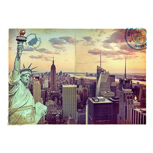 Fotomurale - Cartolina da New York - Quadri e decorazioni