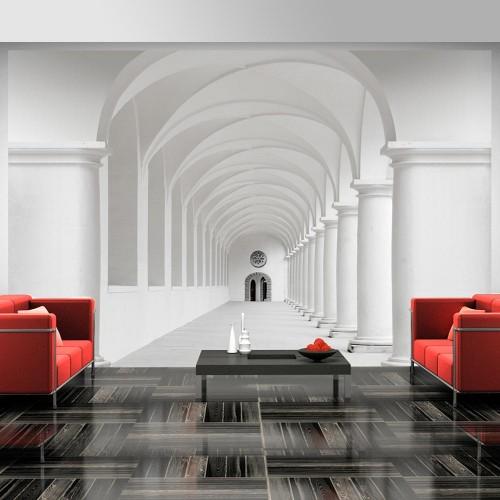 Fotomurale - Il corridoio di incertezza - Quadri e decorazioni
