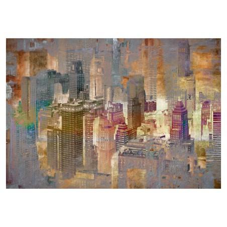 Fotomurale - Città nella nebbia - Quadri e decorazioni