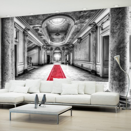 Fotomurale - Mistero del marmo - bianconero - Quadri e decorazioni