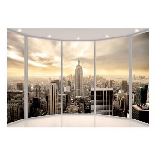 Fotomurale - Soleggiata mattina a New York - Quadri e decorazioni