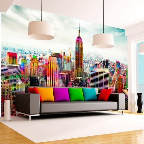 Fotomurale - Colors of New York City - Quadri e decorazioni