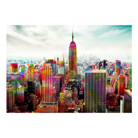 Fotomurale - Colors of New York City - Quadri e decorazioni