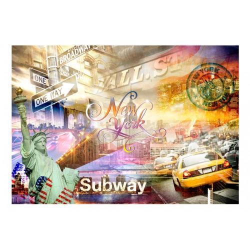 Fotomurale - Colorsof NYC - Quadri e decorazioni