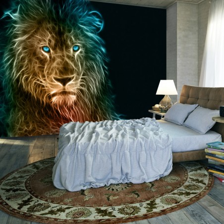 Fotomurale - Abstract lion - Quadri e decorazioni