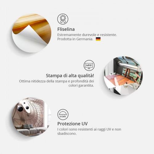Fotomurale - Map and letter - Quadri e decorazioni