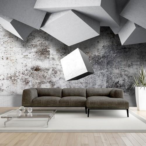 Fotomurale - Geometric rain - Quadri e decorazioni