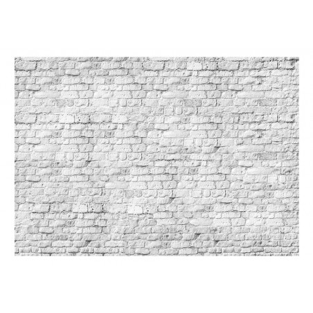 Fotomurale - White brick - Quadri e decorazioni
