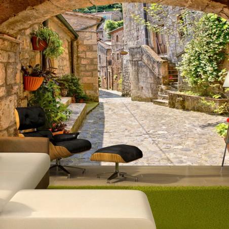 Fotomurale - Provincial alley in Tuscany - Quadri e decorazioni