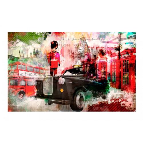 Fotomurale - Vie di Londra - Quadri e decorazioni