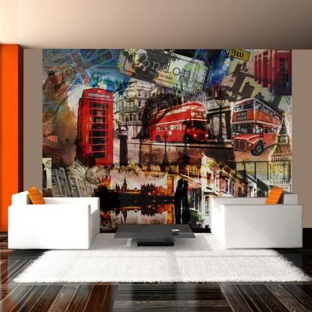 Fotomurale - Collage londinese - Quadri e decorazioni