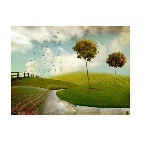 Fotomurale - autunno - paesaggio - Quadri e decorazioni