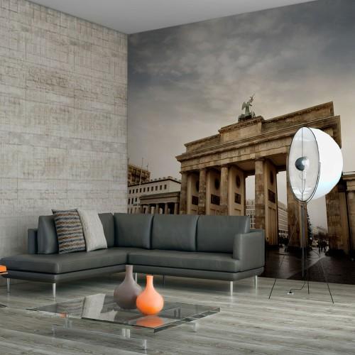 Fotomurale - Turisti presso la Porta di Brandeburgo - Quadri e decorazioni