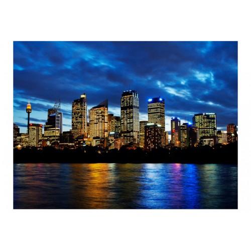 Fotomurale - Nubi serali sopra Sydney - Quadri e decorazioni