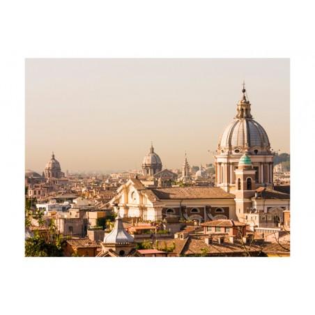 Fotomurale - Roma e vista a volo d'uccello - Quadri e decorazioni