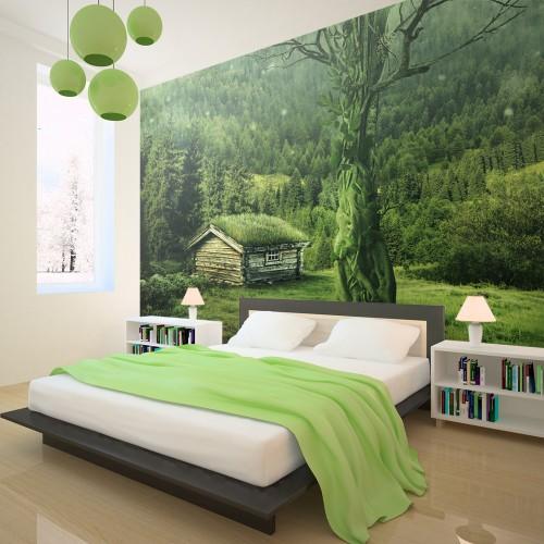 Fotomurale - Cenobio verde - Quadri e decorazioni