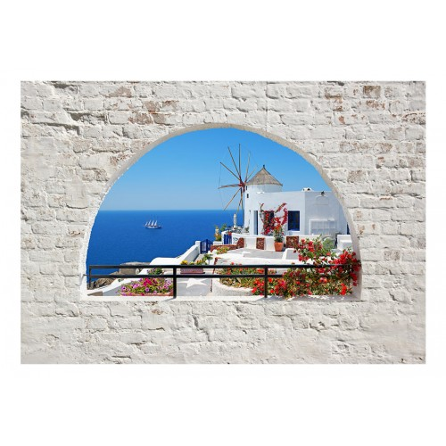 Fotomurale - Viaggio a Santorini - Quadri e decorazioni