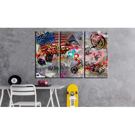 Quadro - American Graffiti - Quadri e decorazioni