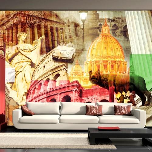 Fotomurale - Roma - collage - Quadri e decorazioni