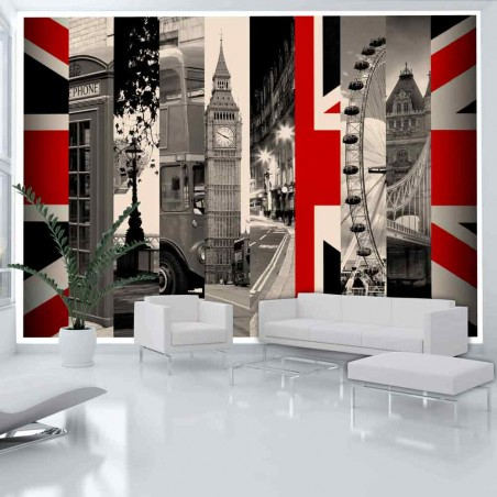 Fotomurale - Simboli di Londra - Quadri e decorazioni