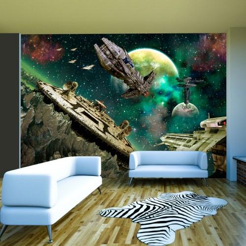 Fotomurale - Flotta spaziale - Quadri e decorazioni