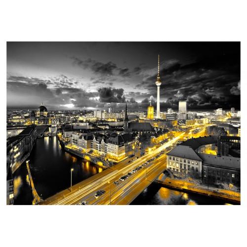 Fotomurale - Berlino di notte - Quadri e decorazioni