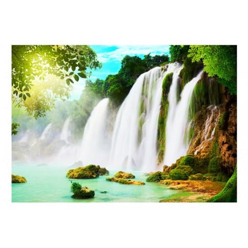 Fotomurale - La bellezza della natura: cascata - Quadri e decorazioni
