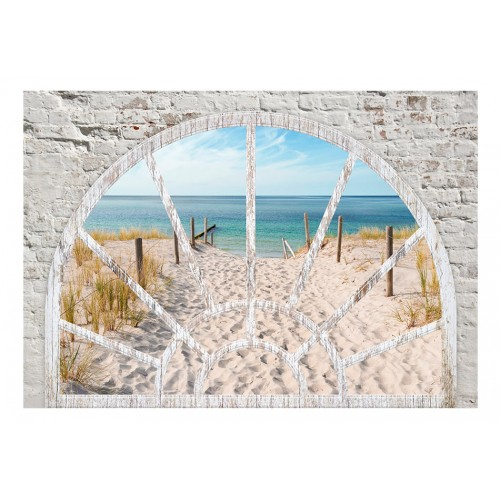 Fotomurale - Window View - Beach - Quadri e decorazioni