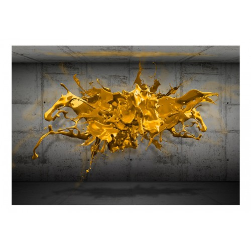 Fotomurale - Yellow Splash - Quadri e decorazioni