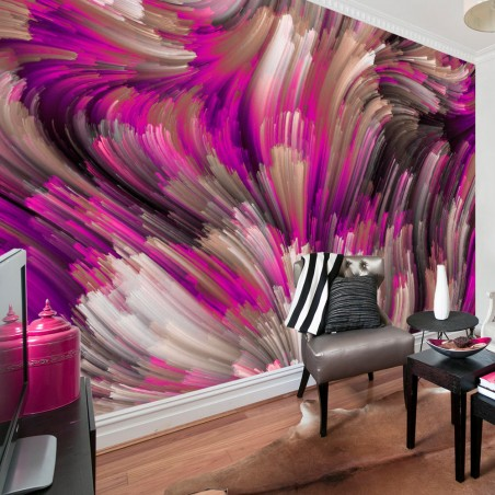 Fotomurale - Purple Energy - Quadri e decorazioni
