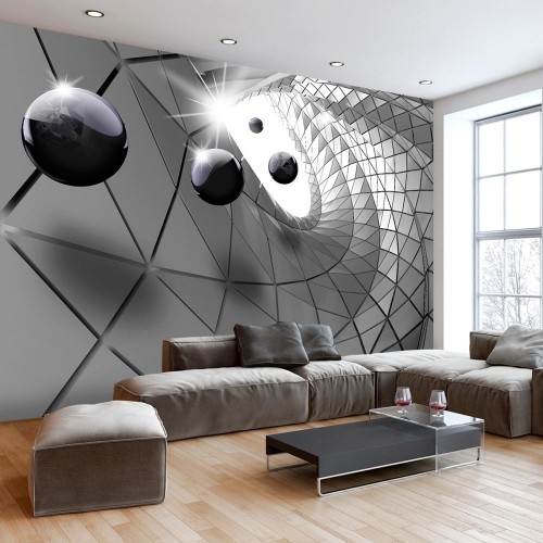 Fotomurale - Steel Illusion - Quadri e decorazioni