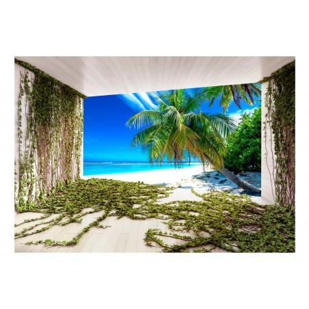 Fotomurale - Beach and Ivy - Quadri e decorazioni
