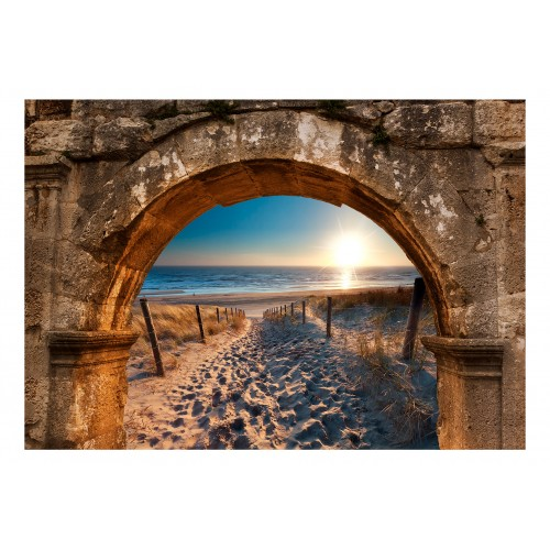 Fotomurale - Arch and Beach - Quadri e decorazioni