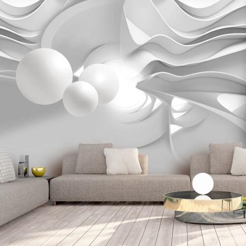 Fotomurale - White Corridors - Quadri e decorazioni