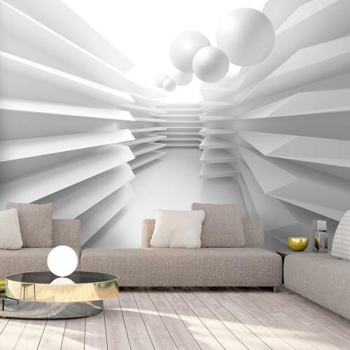 Fotomurale - White Maze - Quadri e decorazioni
