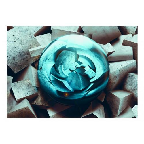 Fotomurale - Blue glow - Quadri e decorazioni