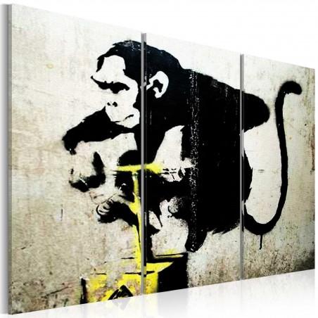 Quadro - Monkey TNT Detonator by Banksy - Quadri e decorazioni